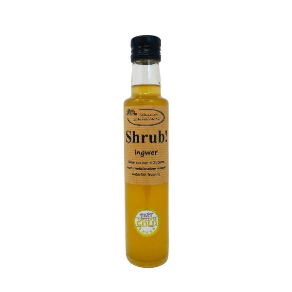 Shrub Ingwer Sirup 250ml