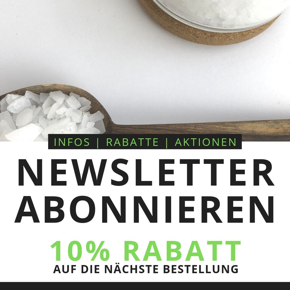Newsletter & 10% Rabatt