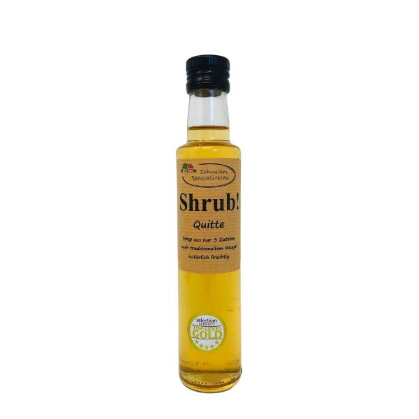 Shrub Quitte Sirup 250ml